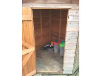 Corner Garden Shed in very good condition.