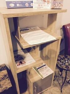 75% Off. Oak Bookcase Regular $449 Now $112.25+HST
