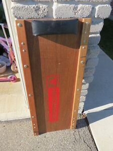Mint Condition Wooden Canadian Tire Creeper