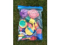 Toy pots and pans etc set