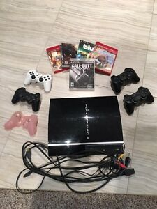 *BARELY USED* SONY PLAYSTATION 3 Whole Package Worth over $1200