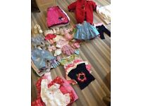Two Bags of Baby Girl Clothes in excellent condition
