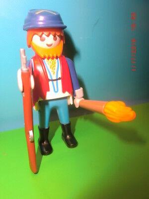 Playmobil SERGANT der Nordstaaten Nordstaatler Fort Yankees Western Indianer*74
