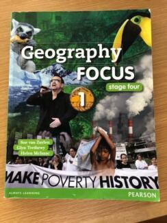 TEXTBOOK - Geography Focus Stage four Sue van Zuylen