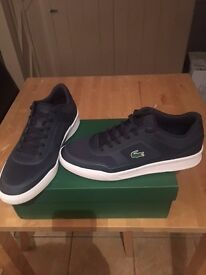 Brand new Lacoste Explorateur Trainers