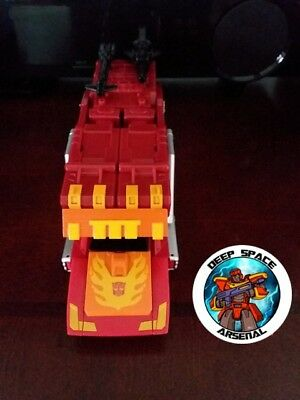Transformers Power Of The Primes Rodimus Prime Dsa 02 Cab Filler  Made By Dsa