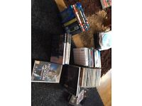 Various CDs/DVDs/Playstation 2