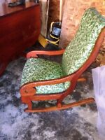 Antique Rocking Chair - Attention nursing mothers