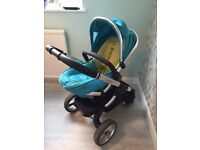 iCandy peach travel system with car seat