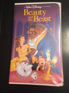 Beauty and The Beast VHS Black Diamond Collectors Copy