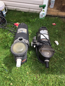 Pool pumps and filters - above ground pool