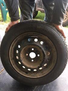 175/65R14 tires on rims