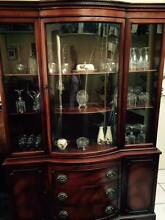 Beautiful Mahogany China Closet 1960's Willoughby Willoughby Area Preview