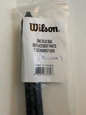 Wilson Headset (Wilson WRG710000 K One BLX2 Original Grommet Set Head Guard Bumper)