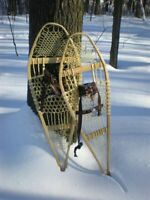 Snowshoes (hand-made) lost Winter 2019
