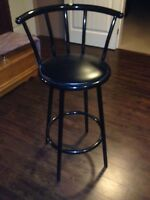 32 inch black bar stools