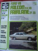 FORD FALCON XA-XB FAIRLANE ZF-ZG Vee8 WORKSHOP MANUAL c1977 Dianella Stirling Area Preview