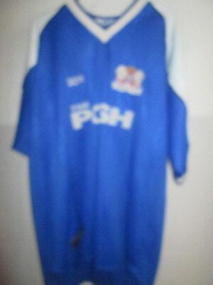 Peterborough United 2000-2001 Home Football Shirt XL /6979 image