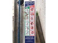 Bailey 3.2 - 5.0m 130kg Aluminium Leveller 10 Extension Ladder