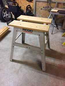 RIGID Saw bench Cambridge Kitchener Area image 1