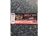 1 x Green Day Ticket - 4th July, Bellahouston Park, Gladgow
