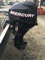 Used, good condition 15hp Mercury outboard Muskoka Ontario Preview