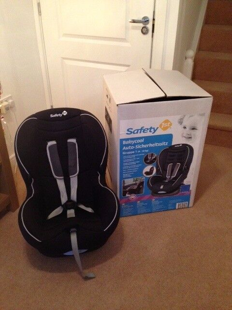 Safety 1st Babycool Forward Facing car seat. Grp 1, 9-18kg. 4yrs old, vg cond, not used last 2 yrs.