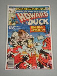 HOWARD THE DUCK #13 VOL 1 MARVEL KISS FULL STORY JUNE 1977