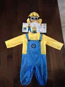 Costume Halloween Minion 1-2 ans