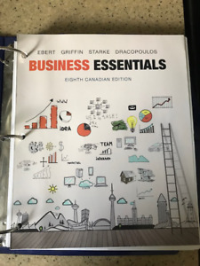 Business Essentials Eighth Canadian Edition - $40