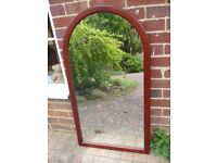 Large Arched Mirror as new