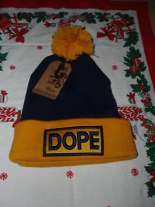 ~ Men's & Women's Hip-Hop DOPE Beanie Winter Elastic Knit Hats ~