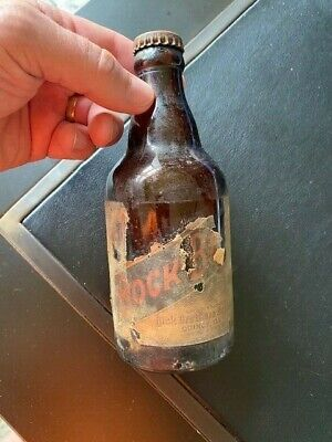 QUINCY IL ILLINOIS Dick Brothers Dick's Bock Beer Steinie Label bottle RARE ?