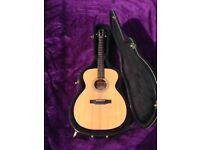 Larrivee OM-02 All Solid Wood Spruce Top & Sapele Back And Sides: Immaculate/Mint Condition