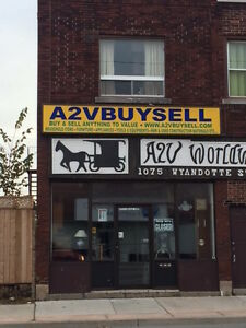 FOR LEASE- 1075 WYANDOTTE EAST, WINDSOR ONTARIO- $1000/MONTH