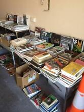 GARAGE/MOVING SALE!! RARE BOOKS DVDS MARTIAL ARTS/TACTICAL EQUIP Dandenong North Greater Dandenong Preview