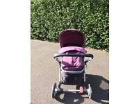 Mather Care Pram 3 in 1 Very Good Condition , Used Only Few Months