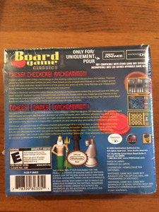 Game Boy Advance - Brand New Factory Sealed Board Games