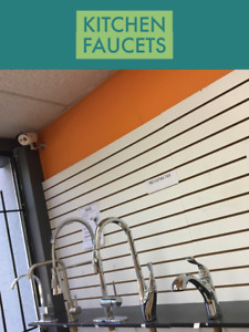 KITCHEN FAUCETS GLASS SHELVES KITCHEN COUNTERTOPS KITCHEN SINKS