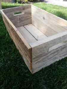 Wooden Crates - handmade solid wood appleboxes Kitchener / Waterloo Kitchener Area image 2