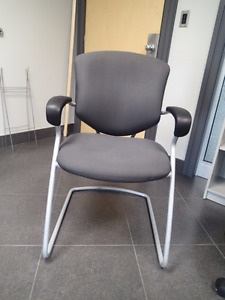 Black Stationary Office Chair