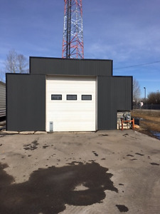 Storage Quonset for lease in Spruce Grove