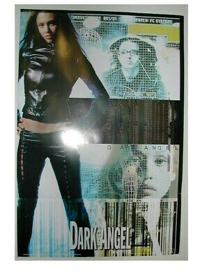 Dark Angel Poster Jessica Alba Leather Outfit - Dark Angel Outfits