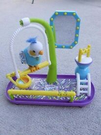 Little Live Pets Interactive Clever Keet Bird... NOT BOXED ...NO INSTRUCTIONS ++LOADS OF OTHER TOYS