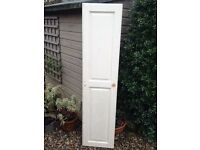 FREE tall / narrow pine / wooden door x 1