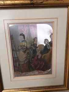 2 Victorian foil pictures London Ontario image 2
