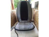 HoMedics Shiatsu Massage cushion - fits on normal chair, hardly used, in box
