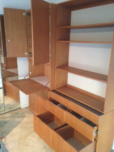 3 Piece 7 foot Wall Unit