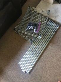 IKEA wire rack - OMAR