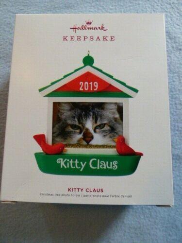 2019 Hallmark Keepsake Ornament Kitty Claus ~ NEW ~ Fast Shipping!